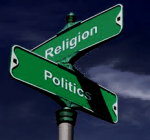 Crossroads; politics and religion